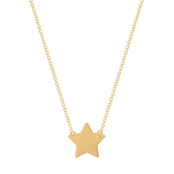 Sterling Silver Star Necklace - NECKLACE - [variant.title]- Borboleta