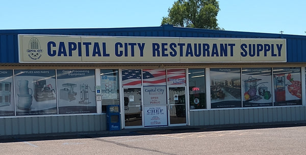 Capital City Restaurant Supply store front