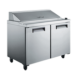 Adcraft - USSL-2D/60 - U-Star Salad/Sandwich Refrigerated Prep Table 15.0 Cu. Ft.