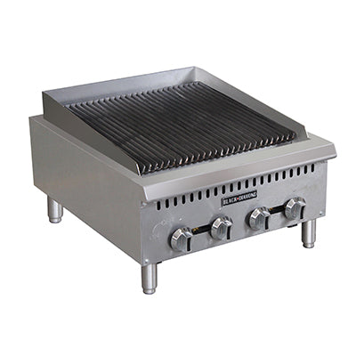 Adcraft - BDCTC-24 - Black Diamond Charbroiler Countertop 24""