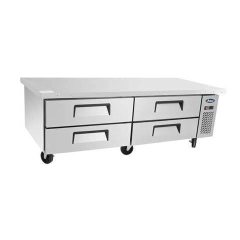Atosa - MGF8454GR Chef Base with Extended Top two- section