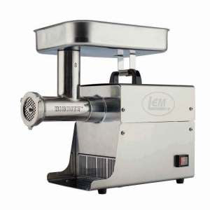 Electric Meat Grinder |LEM |17791| LEM #5 Big Bite Grinder, Stainless Steel
