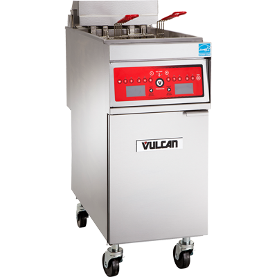 "Vulcan PowerFry Gas Fryer 21"" W - 1VK85DF"