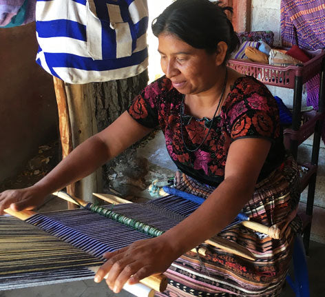 fair trade artisan weaving