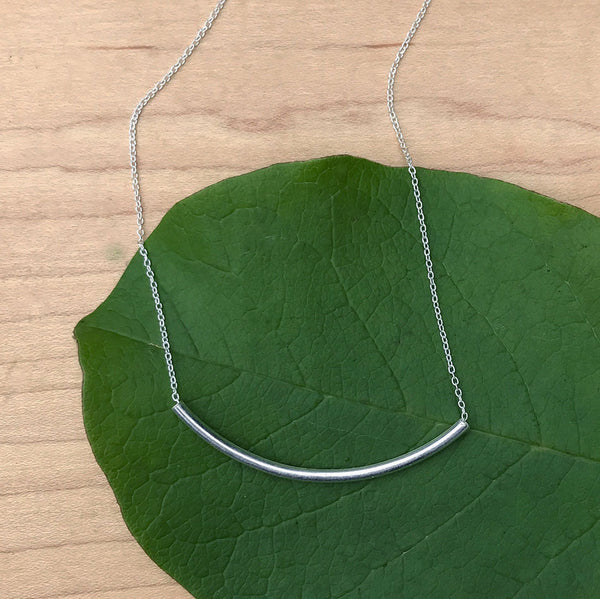 Find Your Balance Necklace - Sterling Silver, Kenya
