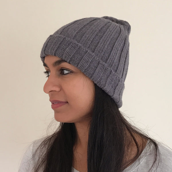 Unisex Alpaca Accordian Hat, Peru