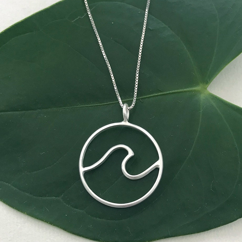 Fair trade sterling silver necklace handmade in Bali