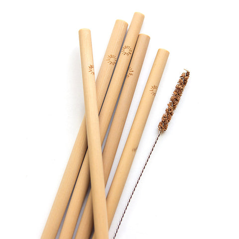 Fair trade bamboo straws handmade by women in Vietnam