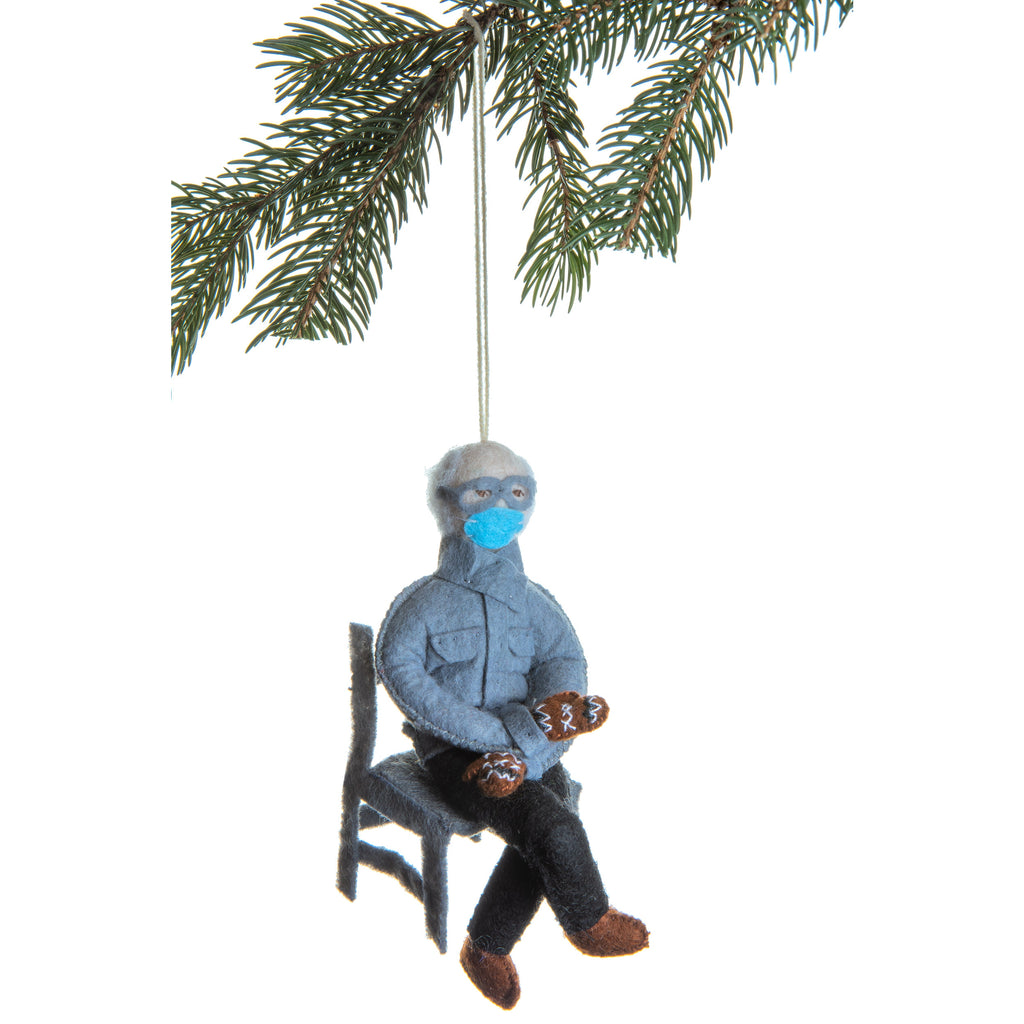 Fair trade bernie sanders ornament