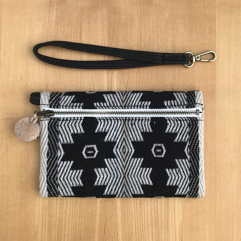 Fair trade clutch handmade in Peru