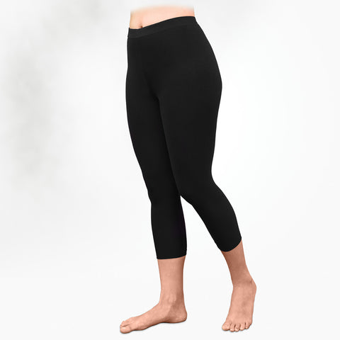 Fair trade organic cotton leggings handmade in Peru