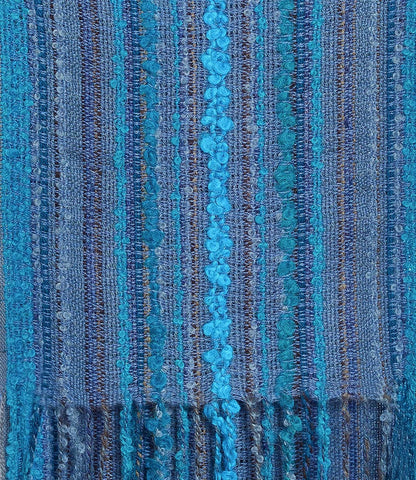 Fair trade alpaca scarf handmade in Peru