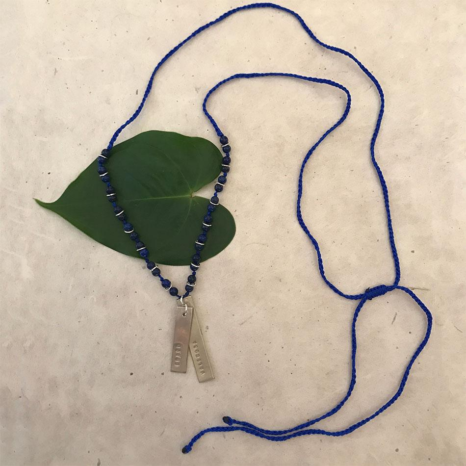 Brave Spanish fair trade necklace handmade in Peru