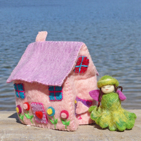 Felted Mini Dream House, Nepal