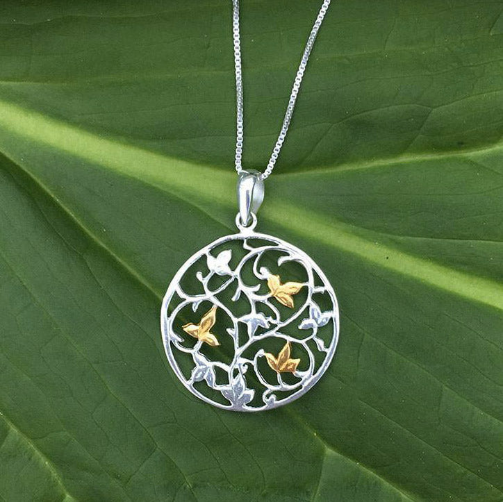 Fair trade sterling silver necklace gift