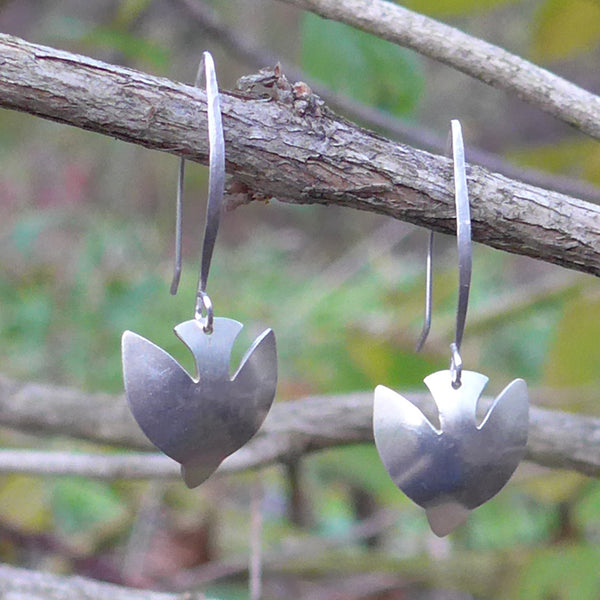 Freebird Earrings - Sterling Silver, India