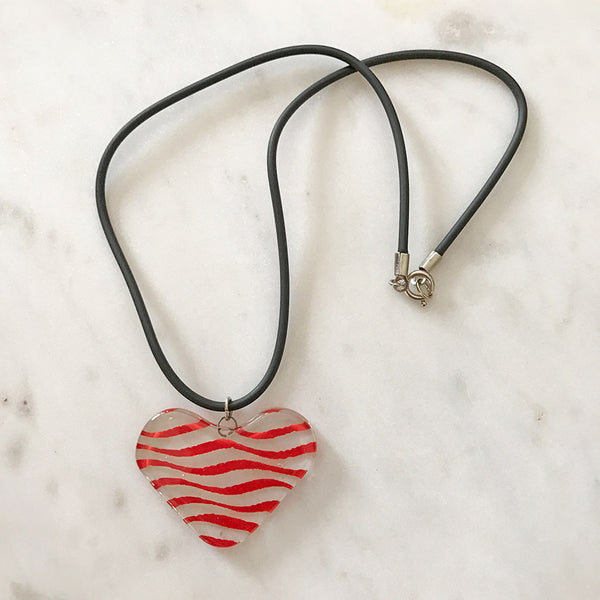Heart to Heart Necklace, Chile