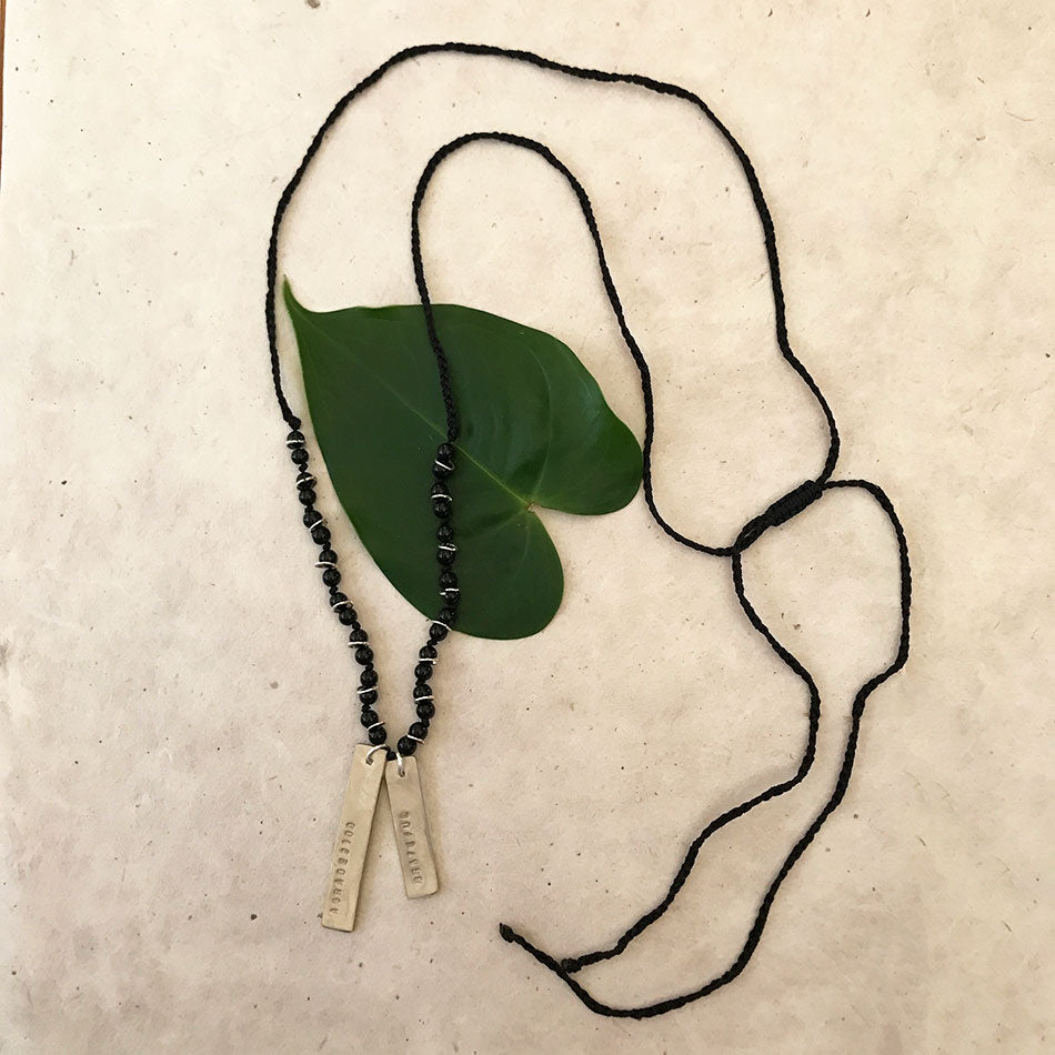 Grateful fair trade Spanish necklace handmade in Peru