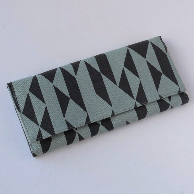Fair trade clutch wallet handmade by women in Cambodia