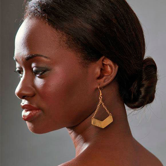 Balance Earrings, Kenya