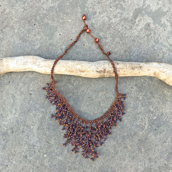 Harmony Necklace - Copper/Silver, Guatemala