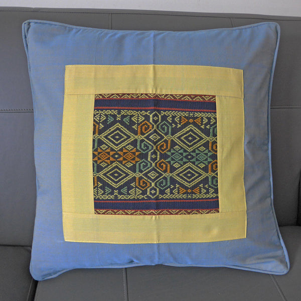 Ikat Pillow Cover - Mosaic, Indonesia