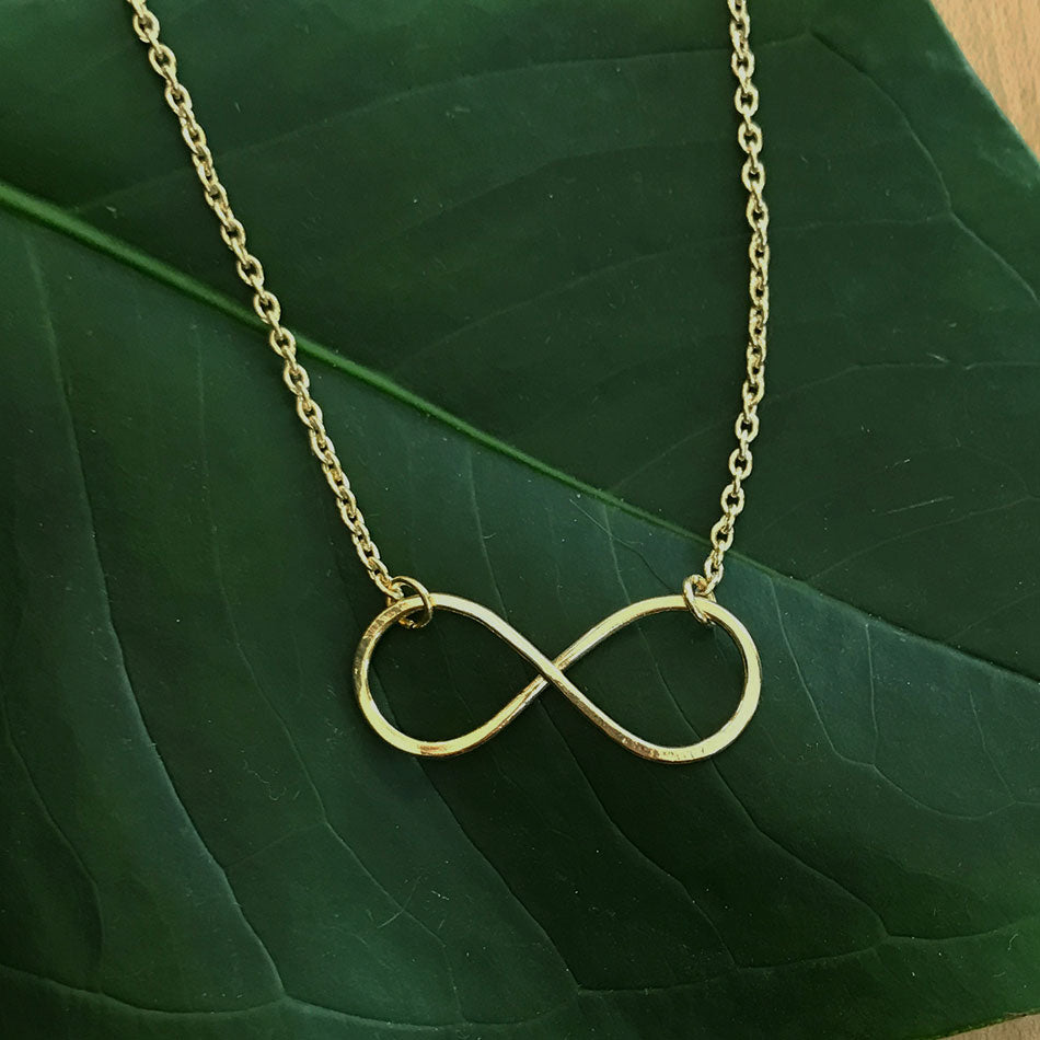 Infinity Necklace - Gold, India