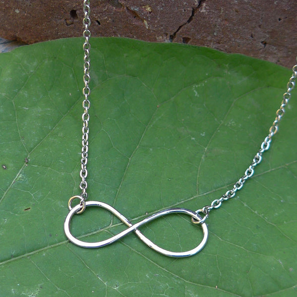 Infinity Necklace - Silver, India