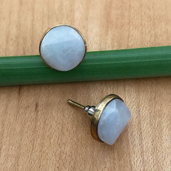 Fair trade jade earrings handmade in Guatemala