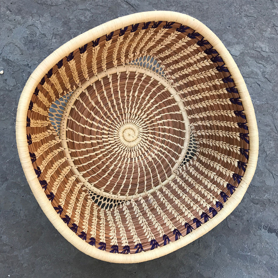 Fair Trade basket handmade by Mayan women in Guatemala