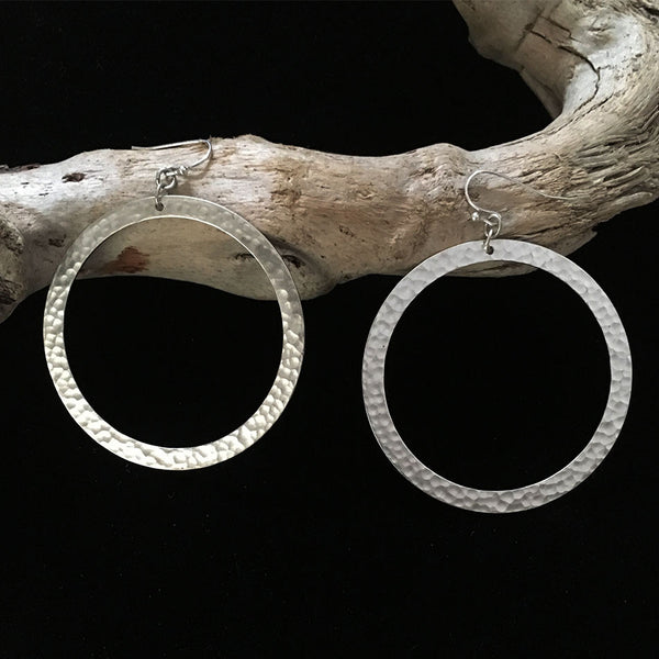 Hip Hoop Earrings, Guatemala