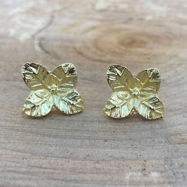 Lily Studs - Gold, India