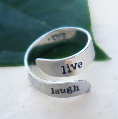 Fair trade sterling silver adjustable ring