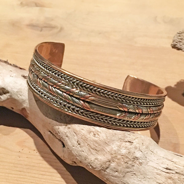 Men's Healing Energy Bracelet - Braid, Nepal