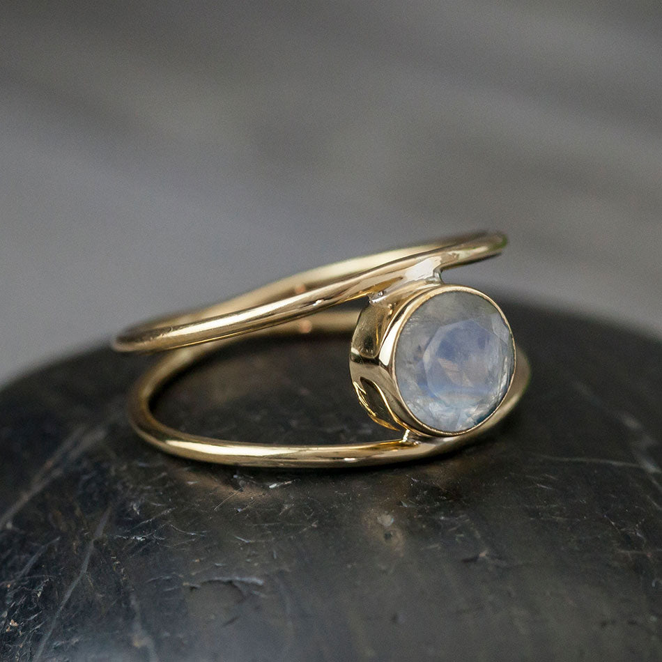 Magical Moonstone Ring, India
