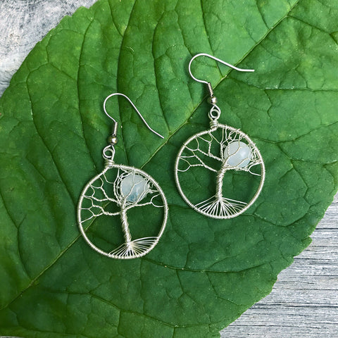 Fair Trade Tree of Life earrings handmade in Guatemala