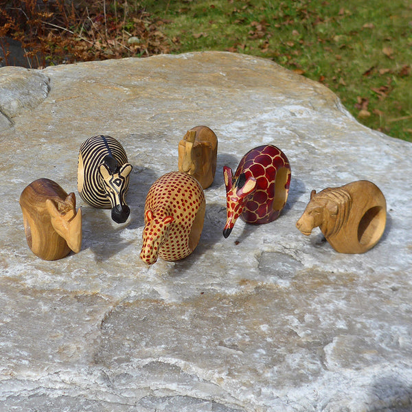 Safari Napkin Rings, Kenya