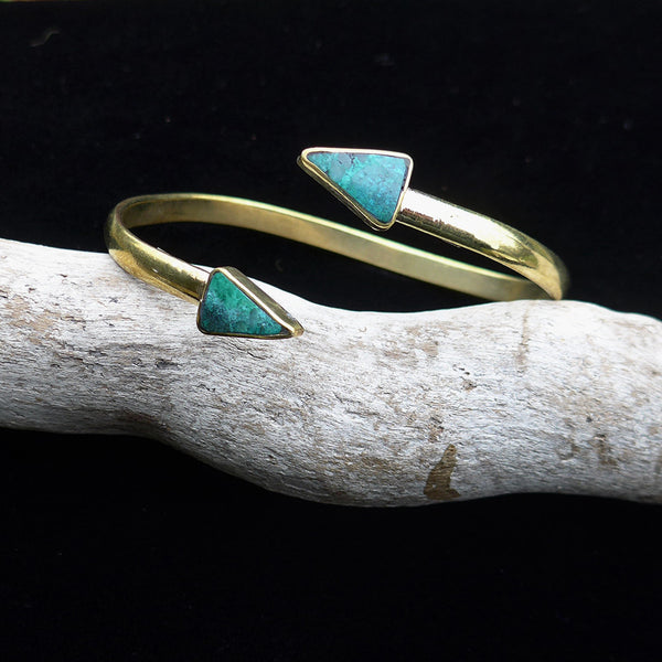 Point Out The Good Bracelet - Turquoise, Bolivia