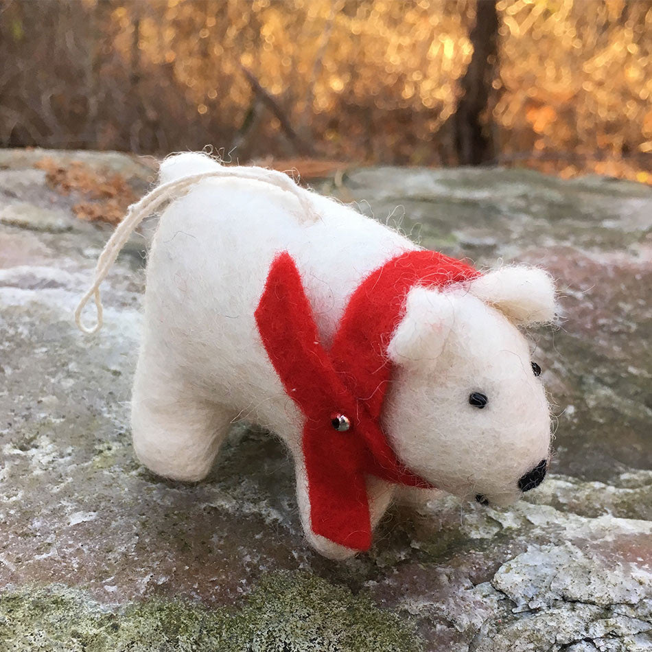 Polar Bear Ornament, Nepal