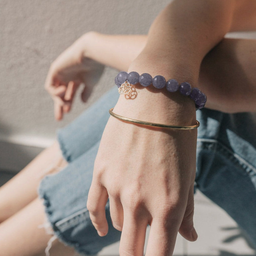 Fair trade bracelet handmade by survivors of human trafficking