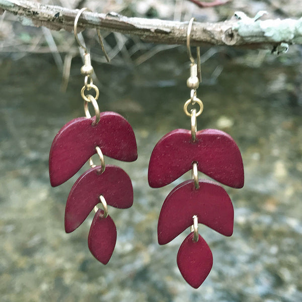 Fair trade, handmade earrings from India