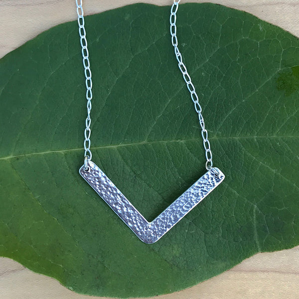 Elegancia Necklace - Sterling Silver, Peru