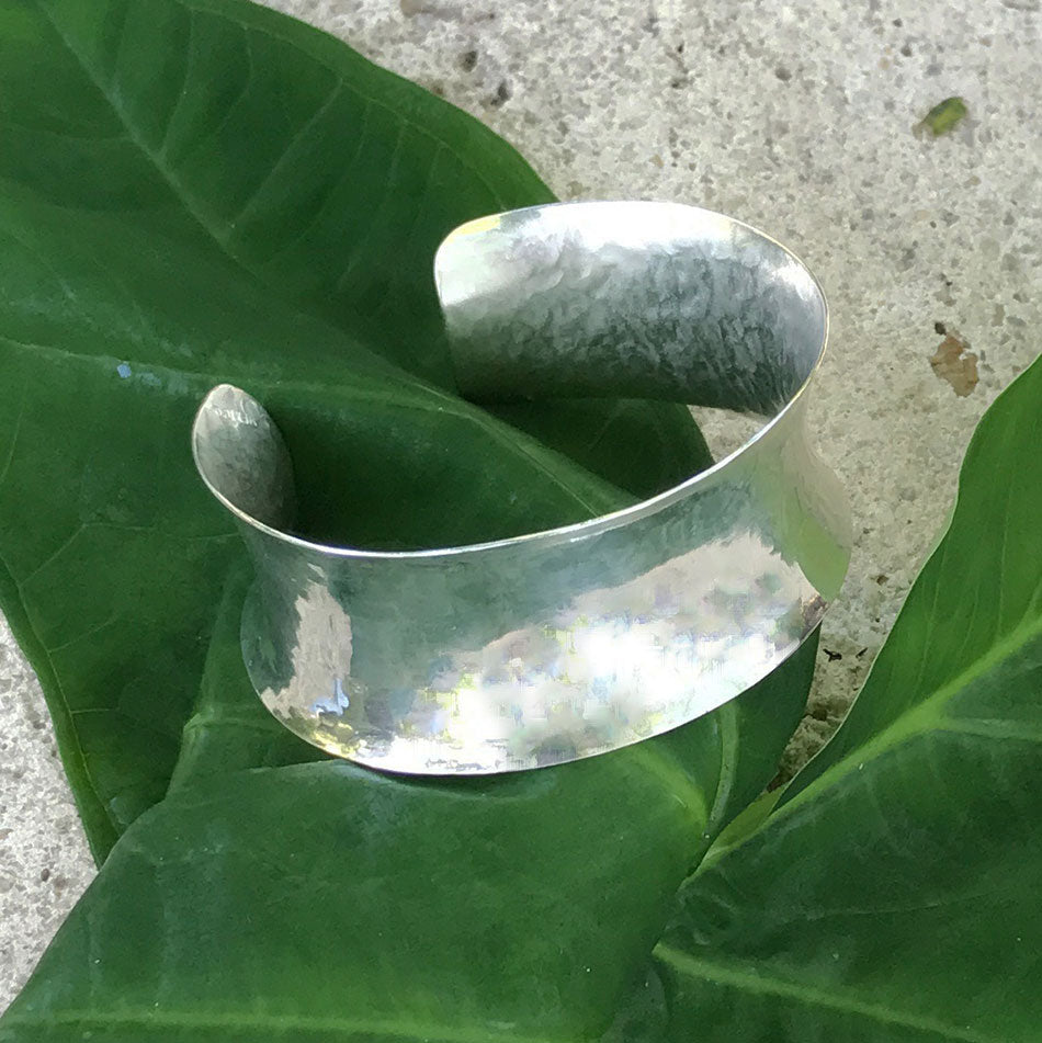 Fair trade silver bracelet handmade by women in Mexico