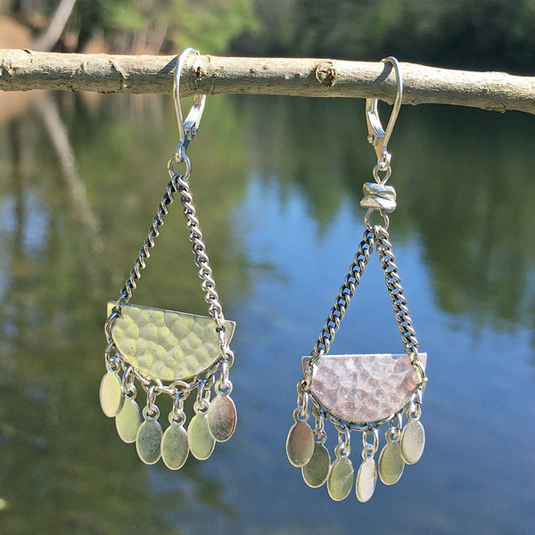 A New Leaf Earrings, Guatemala