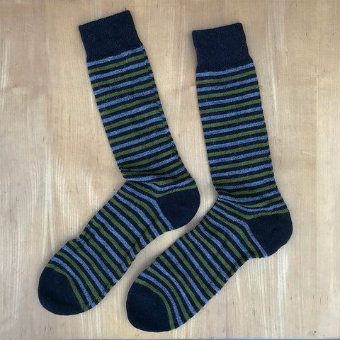 Fair trade alpaca socks handmade in Peru