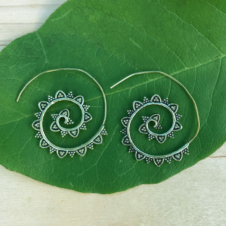 Spiral Up Earrings, India