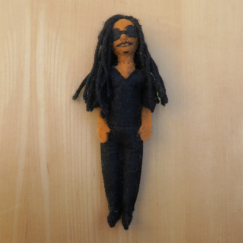 Stevie wonder fair trade ornament
