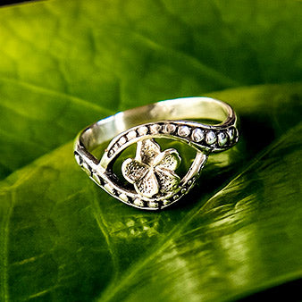 Fair trade sterling silver ring handmade in Bali