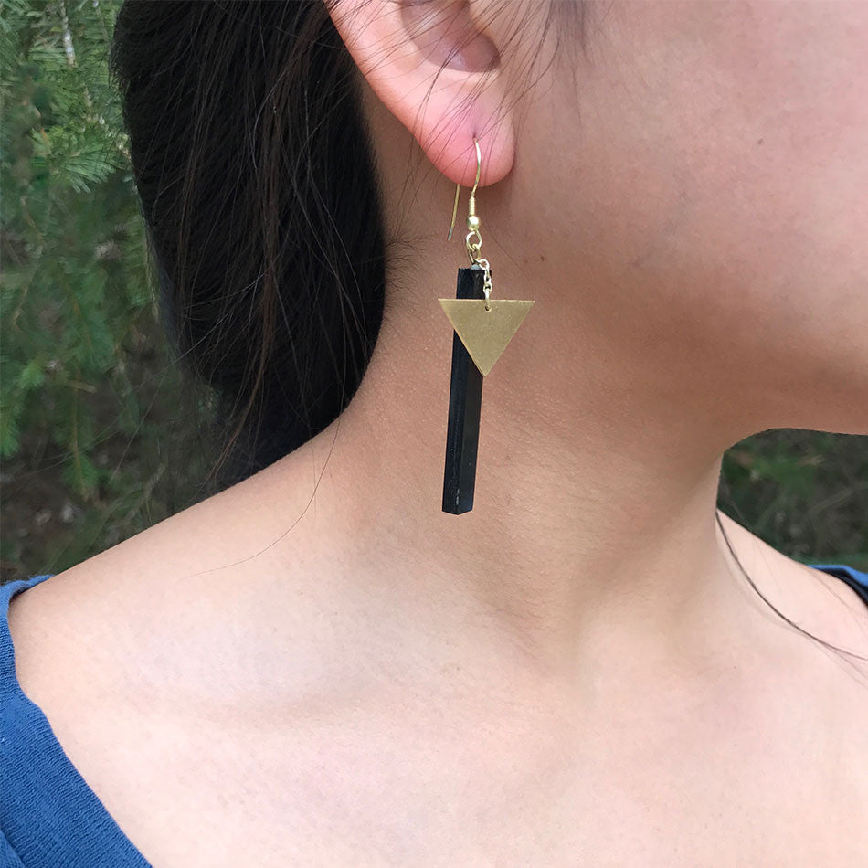 Tower of Strength Earrings, India
