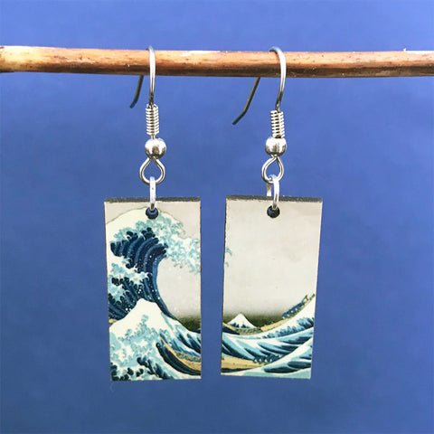 Fair trade earrings handmade by women artisans in Guatemala